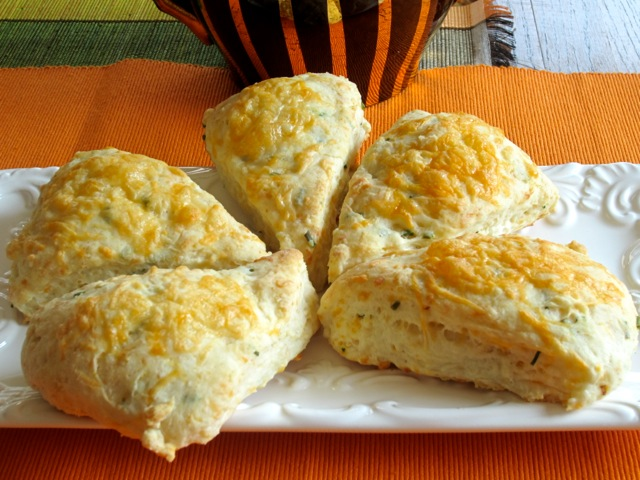 Cheese and Chive Scones myfavouritepastime.com_2744