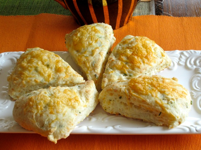 Cheese and Chive Scones myfavouritepastime.com_2745