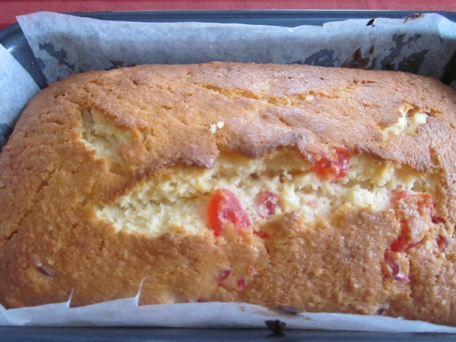 Coconut Cherry Cake_4853