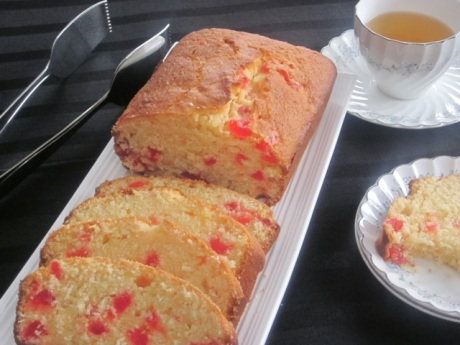 Coconut Cherry Cake_4857