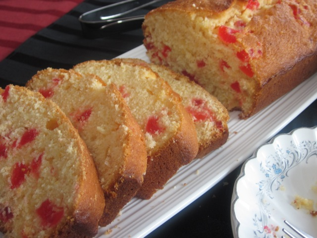 Coconut Cherry Cake_4875