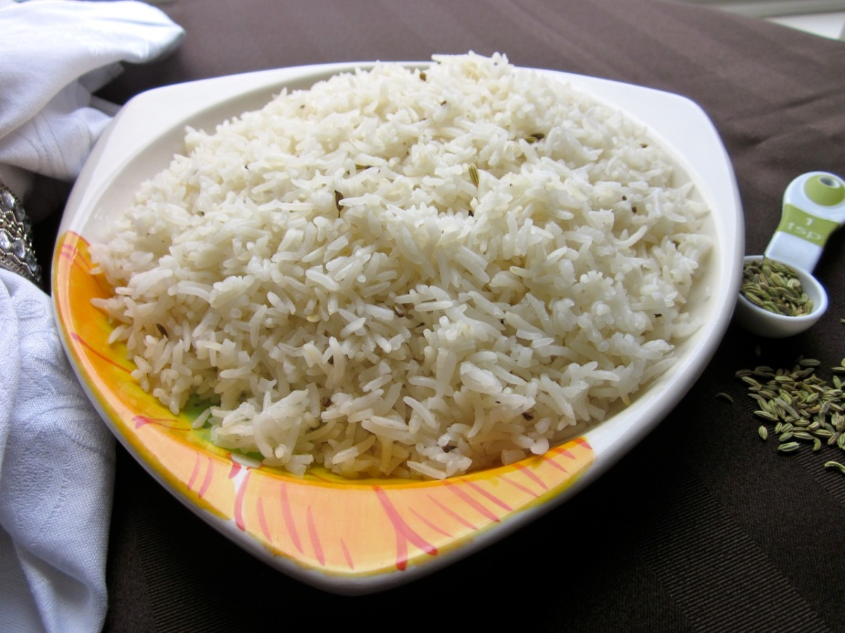 Rice with Fennel Seeds