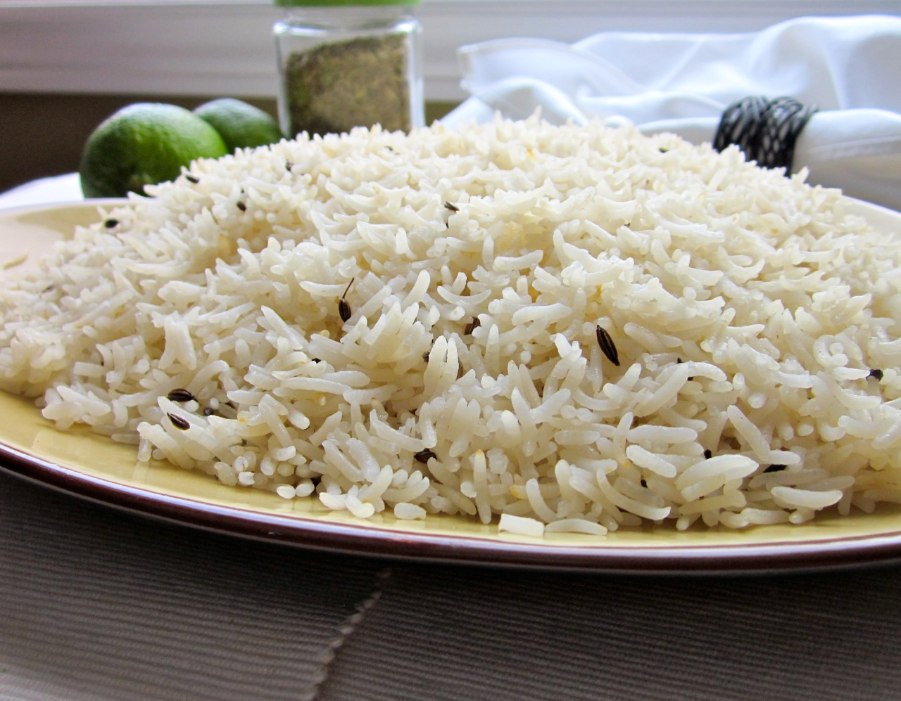 Rice with Fennel Seeds – My Favourite Pastime