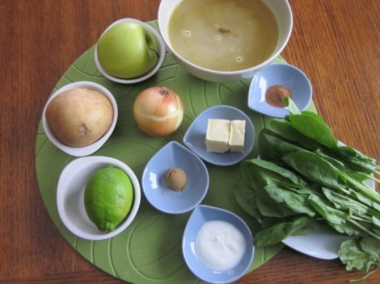 Spinach & apple soup_6109