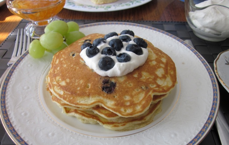Blueberry Pancake_7466