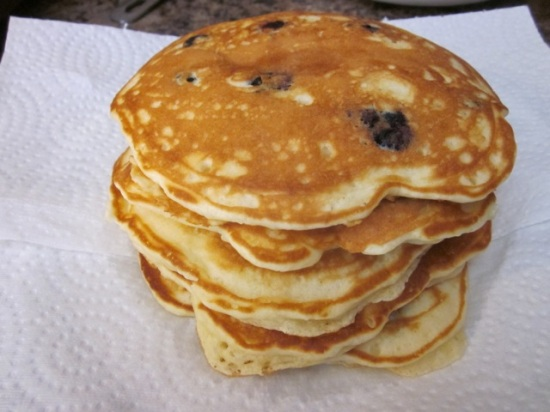 Blueberry Pancakes_7458