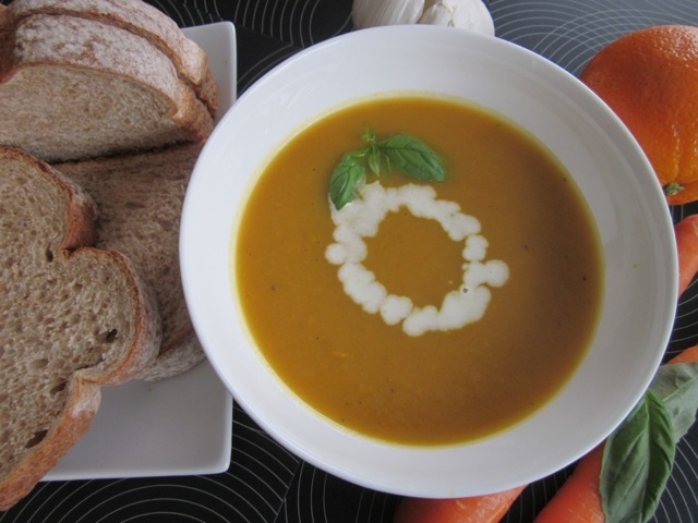 Carrot & sweetp potato soup_6057