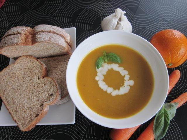 Carrot & sweetpotato soup_6056