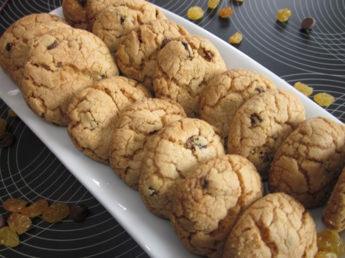 Choc Chip Sultana Cookies_5793