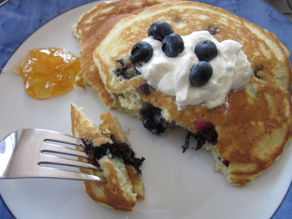 Blueberry Pancakes My Favourite Pastime