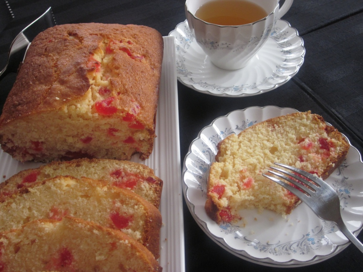 Coconut Cherry Cake