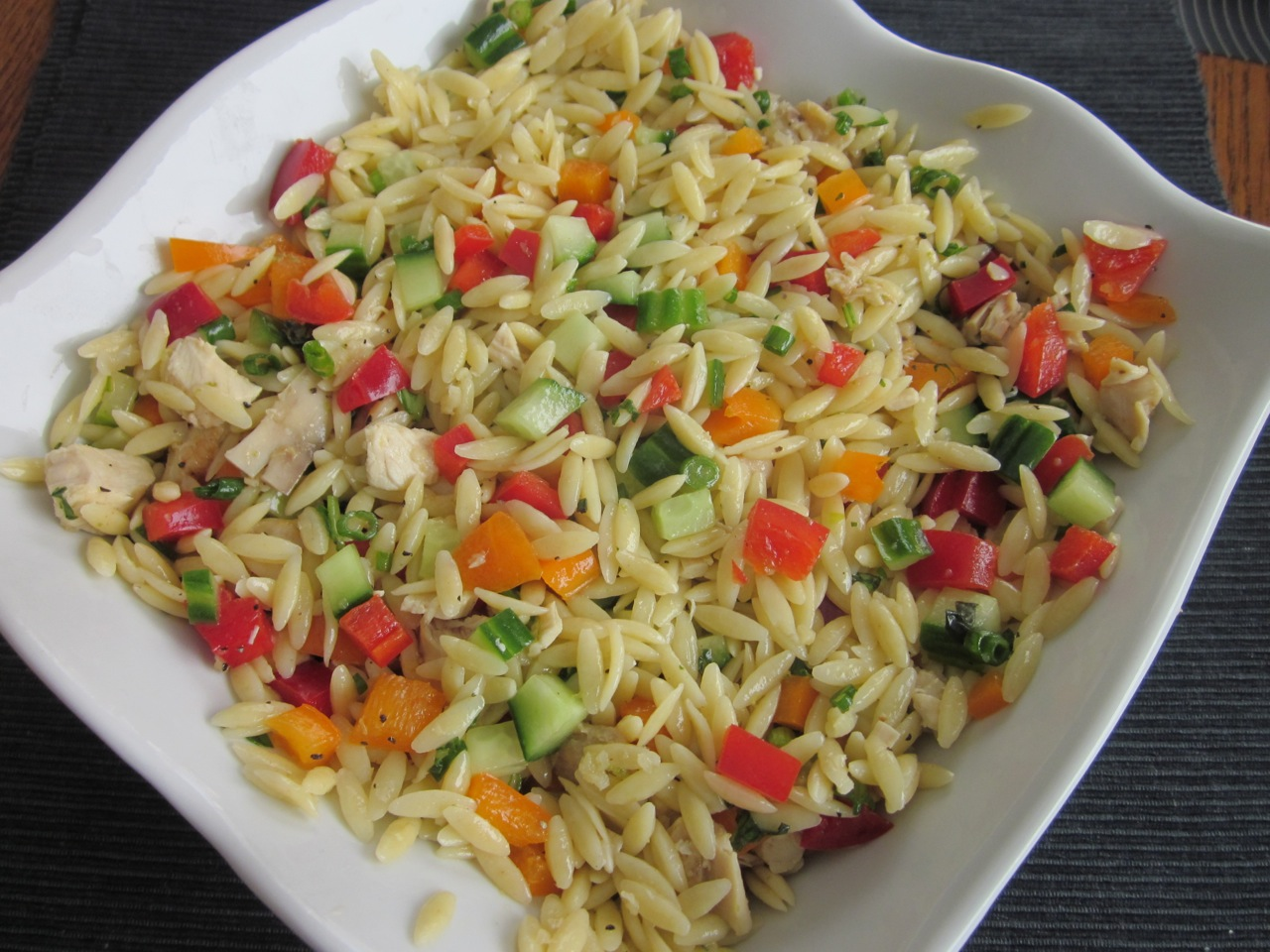 Chicken Orzo Salad My Favourite Pastime