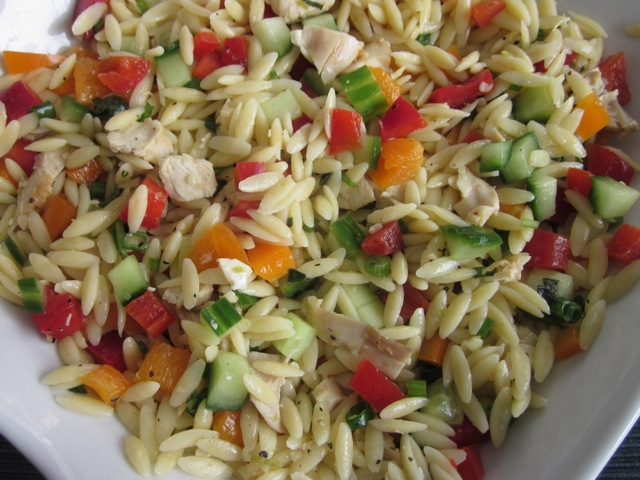 Poached Chicken And Pomegranate Orzo Recipes — Dishmaps