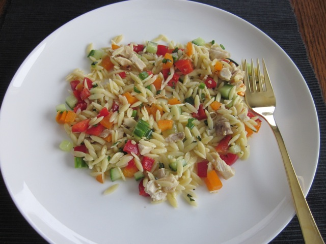 Lemon Orzo Salad_6655
