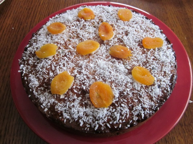 Apricot Choc Chip & Sultana Cake_8080