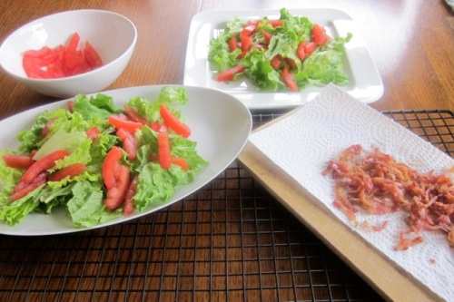 Bacon Lettuce & Tomato Salad_0701