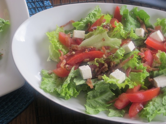 My children loved this salad too…the usual chit chatting stopped ...