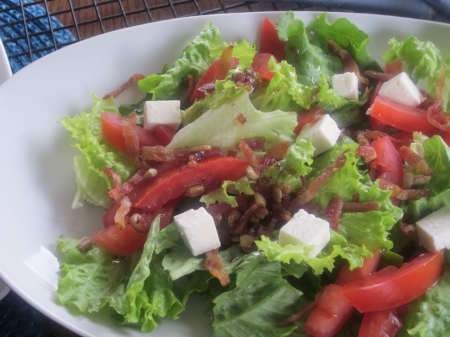 Bacon Lettuce Tomato Salad | My Favourite Pastime