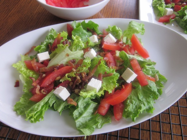 Bacon Lettuce & Tomatoe Salad_0707
