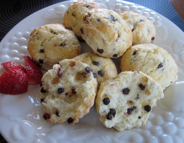 Cranberry & Chocolate Scones_8925