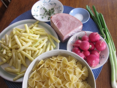 Pasta Salad with Beans & Ham_8278