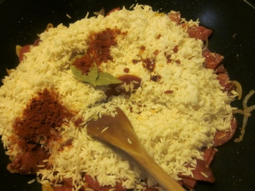 Spicy Sausage Pilau_0181