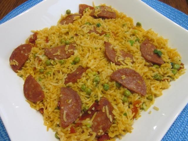 Spicy Sausage Pilau_0210