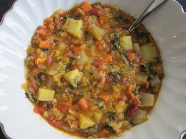 Winter Lentil Soup_7079