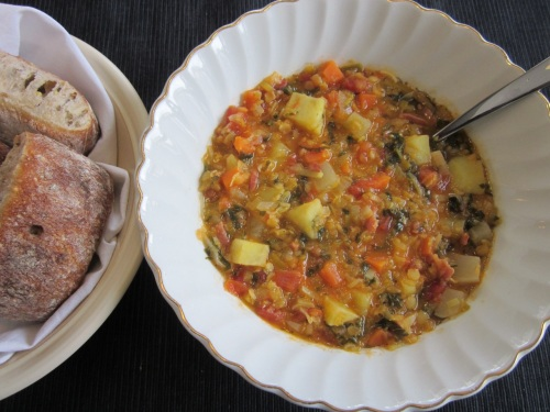 Winter Lentil Soup_7096
