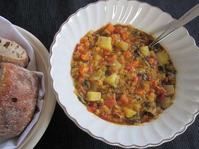 Winter Lentil Soup_7106