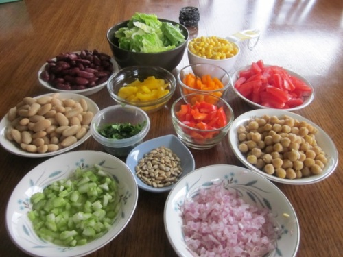 Bean and Vegetable Salad_4023