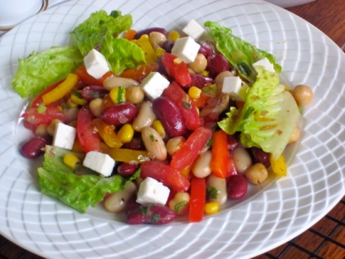 Bean and Vegetable Salad_4067