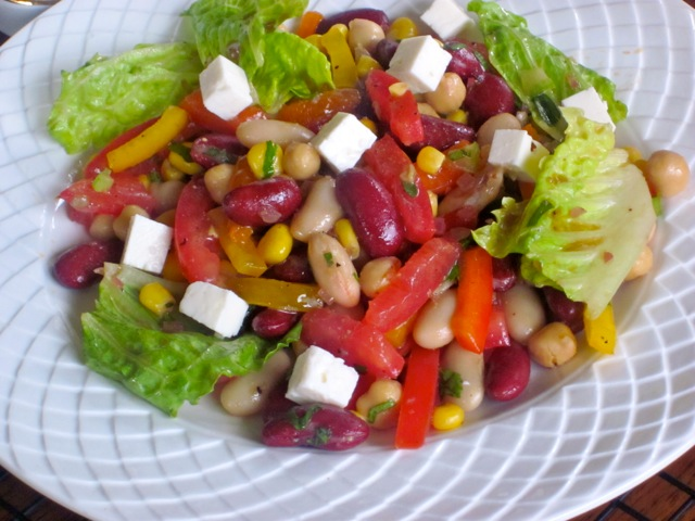 Bean and Vegetable Salad_4068