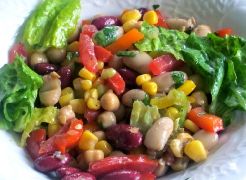 Bean and Vegetable Salad_4114