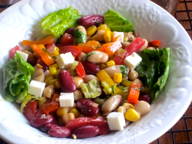 Bean and Vegetable Salad_4116