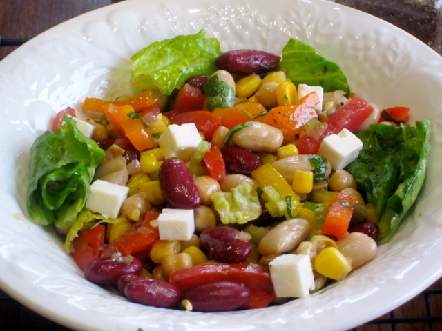 Bean and Vegetable Salad_4121