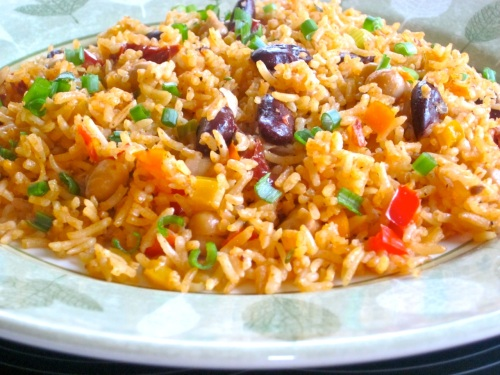Featured Rice with Beans and Sun-Dried Tomatoes_3878