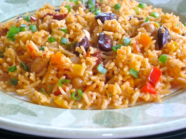 Rice with Beans and Sun-Dried Tomatoes_3879