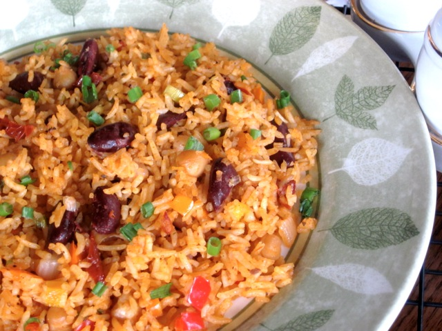 Rice with Beans and Sun-Dried Tomatoes_3954
