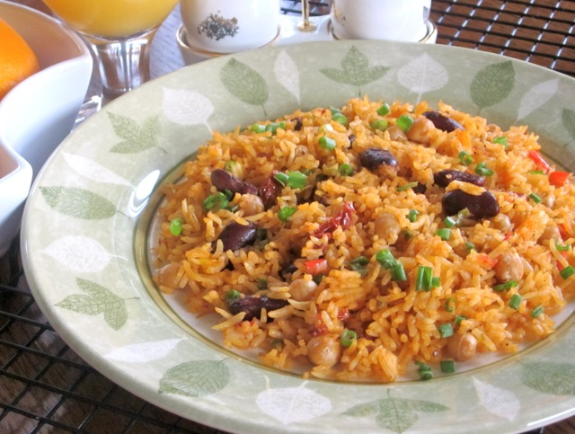 Rice with Beans and Sun-Dried Tomatoes_3958