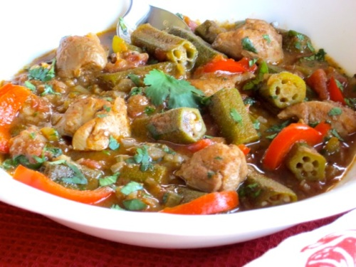 Chicken and Okra Stew | My Favourite Pastime