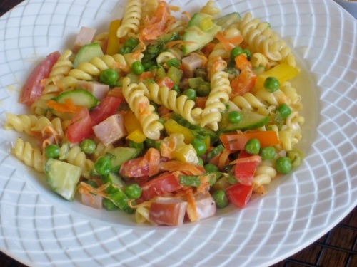 Pasta Salad with Vegetables and Ham_4190_2