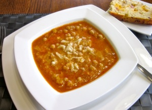 Spicy Chick Pea Soup with Coconut Milk myfavouritepastime.com_0580