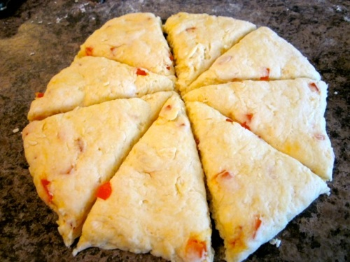 Coconut Papaya Scones with Strawberries myfavouritepastime.com_4969