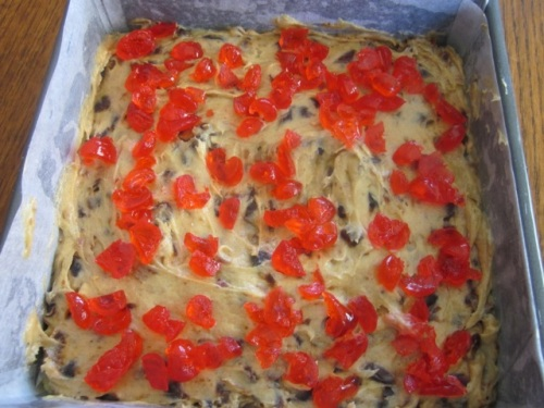 Date Cake with Cherry Almond Topping myfavouritepatime.com_0802