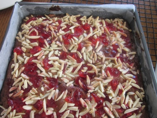 Date Cake with Cherry Almond Topping myfavouritepatime.com_0811
