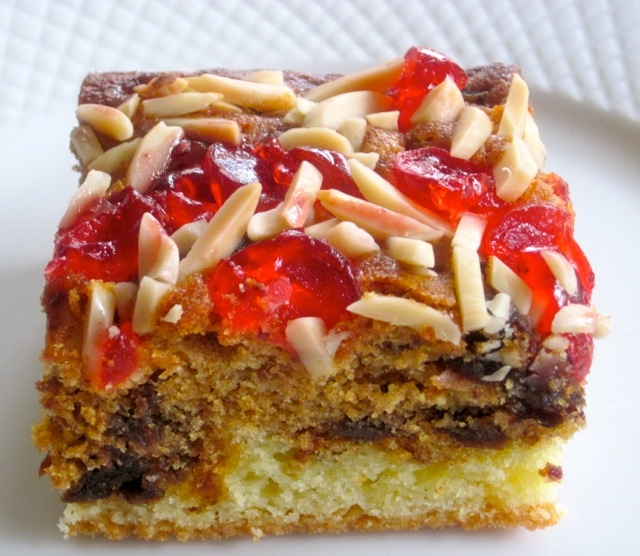 Date Cake with Cherry Almond Topping myfavouritepatime.com_1099