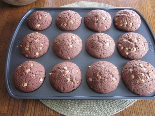 Double Chocolate Cupcakes myfavouritepastime.com_2920
