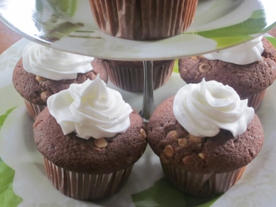 Double Chocolate Cupcakes myfavouritepastime.com_3119