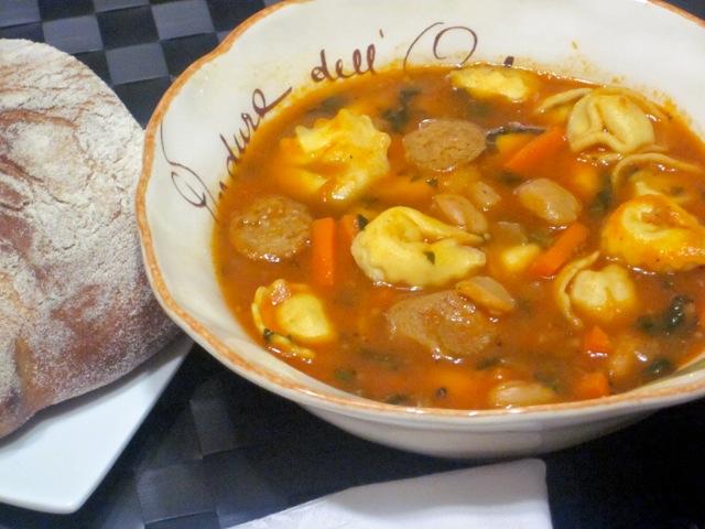Tortellini Sausage Soup myfavouritepastime.com_3568